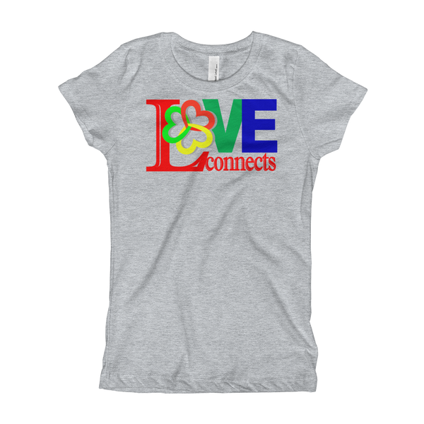 Love Connects-Girl's T-Shirt