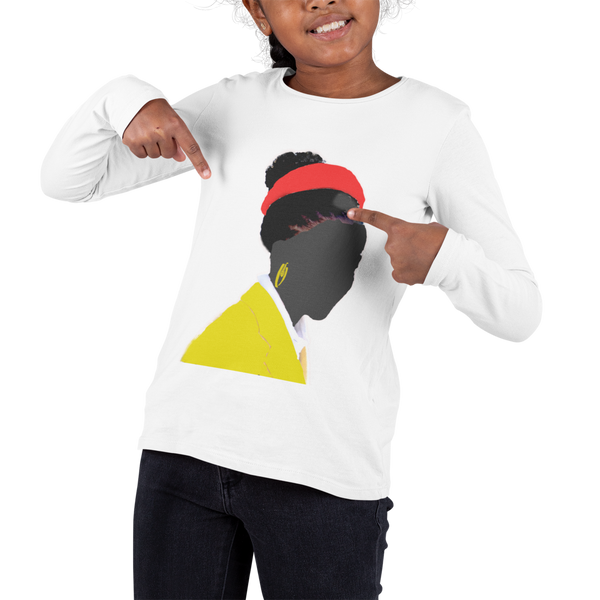 Amanda Gorman Unisex Long Sleeve Tee Shirt-Adults & Youth Sizes