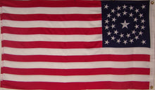 Embroidered 34 Star Outdoor Flag - American Historical Flag