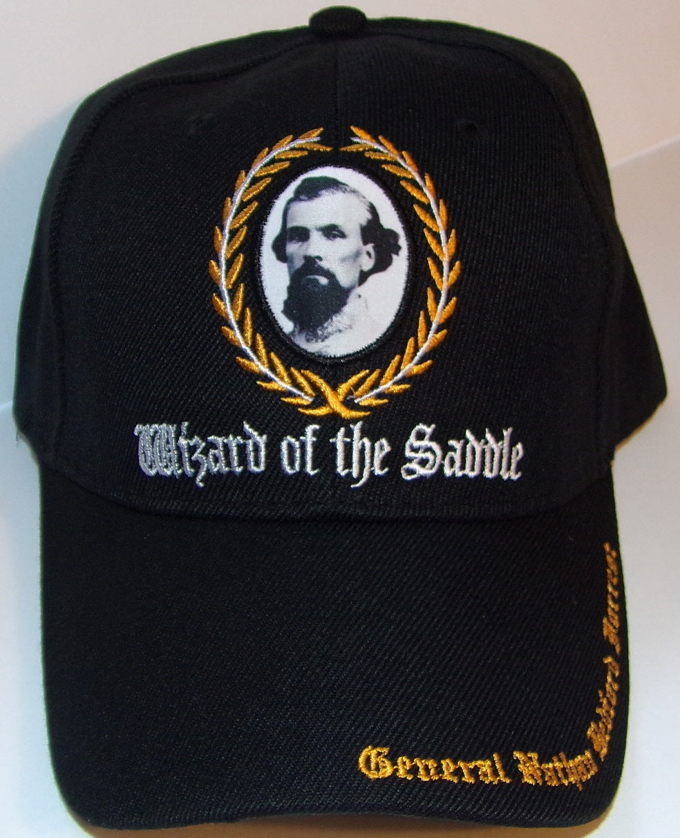 CONFEDERATE GENERAL NATHAN BEDFORD FORREST HAT - WIZARD OF THE SADDLE