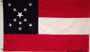 21st Mississippi Infantry Heavy Cotton Flag