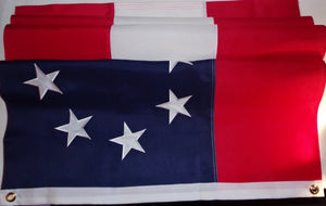 FIRST NATIONAL CONFEDERATE FLAG - 600D SEWN ALL WEATHER - 2 sizes