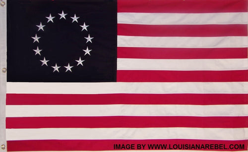Sewn Cotton Betsy Ross Flag