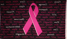Breast cancer awareness flag