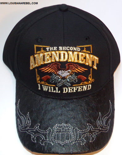 The Second Amendment Cap - I Will Defend