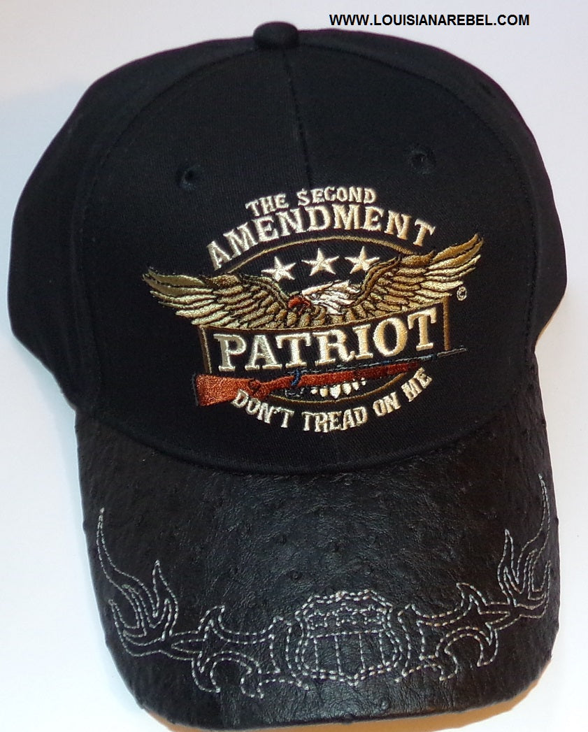 The second Amendment Patriot cap - Don't Tread on Me