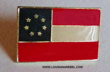 First National flag hatpin