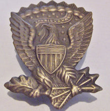 BRASS JEFFERSON DAVIS PIN - HARDEE EAGLE