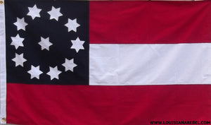 2nd Georgia Cotton CSA Flag