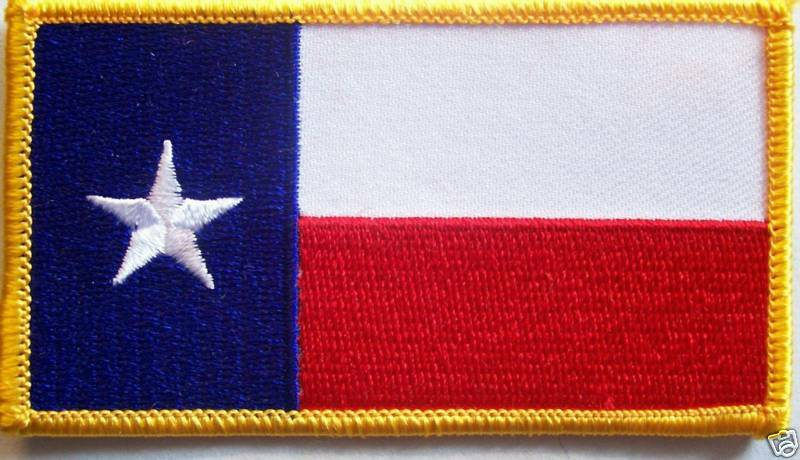 TEXAS FLAG PATCH
