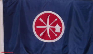CHOCTAW BRAVES CONFEDERATE FLAG