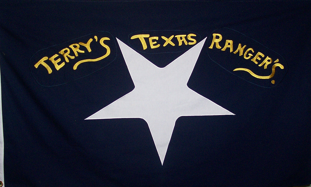 TERRY'S TEXAS RANGERS FLAG - COTTON