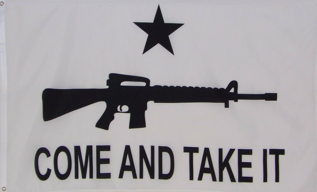 COME AND TAKE IT FLAG - AR 15