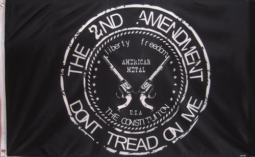 2nd Amendment flag - Don't tread on me.