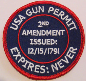 2nd Amendment patch