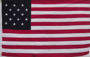 COTTON STAR SPANGLED BANNER FLAG