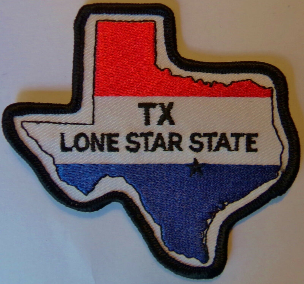TEXAS PATCH - TX LONE STAR STATE PATCH