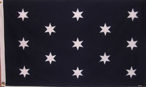 HEAVY DUTY COTTON GENERAL GEORGE WASHINGTON HEADQUARTERS FLAG