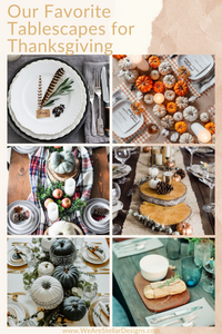 Our Favorite Tablescapes For Thanksgiving