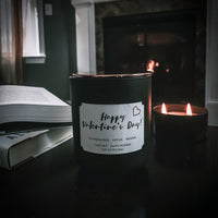 Custom Valentine's Day Candles!