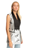 Adele Vest in Pop Print