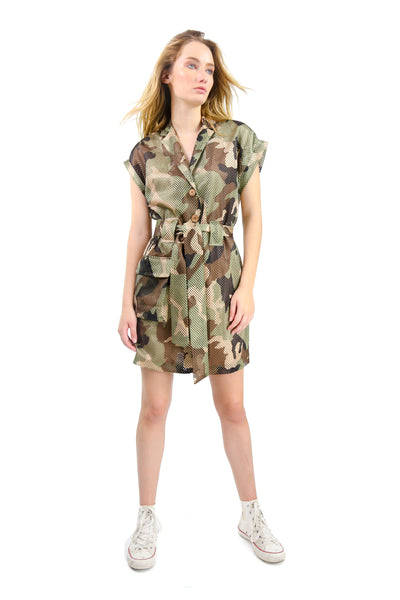 Thea Dress Camouflage