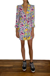 Carlotta Blazer Dress Flower print