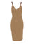 DARCY KNIT DRESS- BEIGE