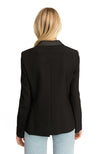 Gaia Single Botton Blazer Black