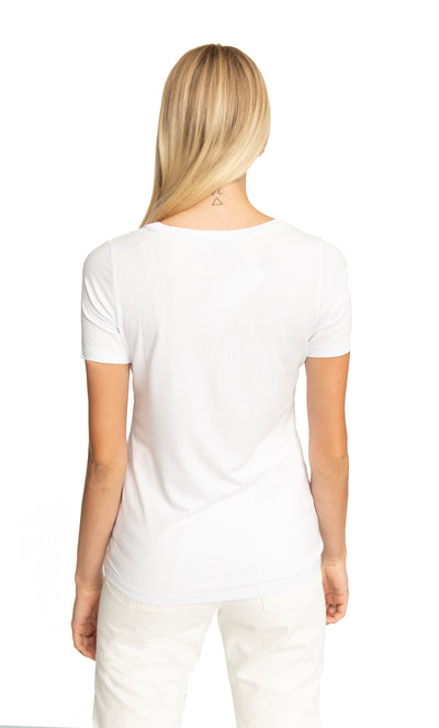 Embroidered Giorgia Tshirt