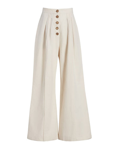 Ilaria High-waisted Wide Leg Pant Cholk