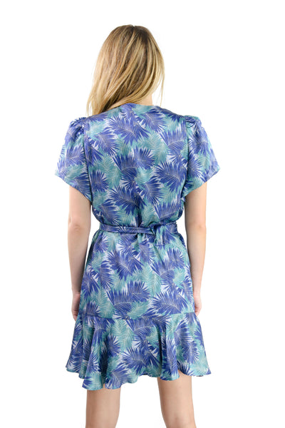 Emma Dress Palm Leaf
