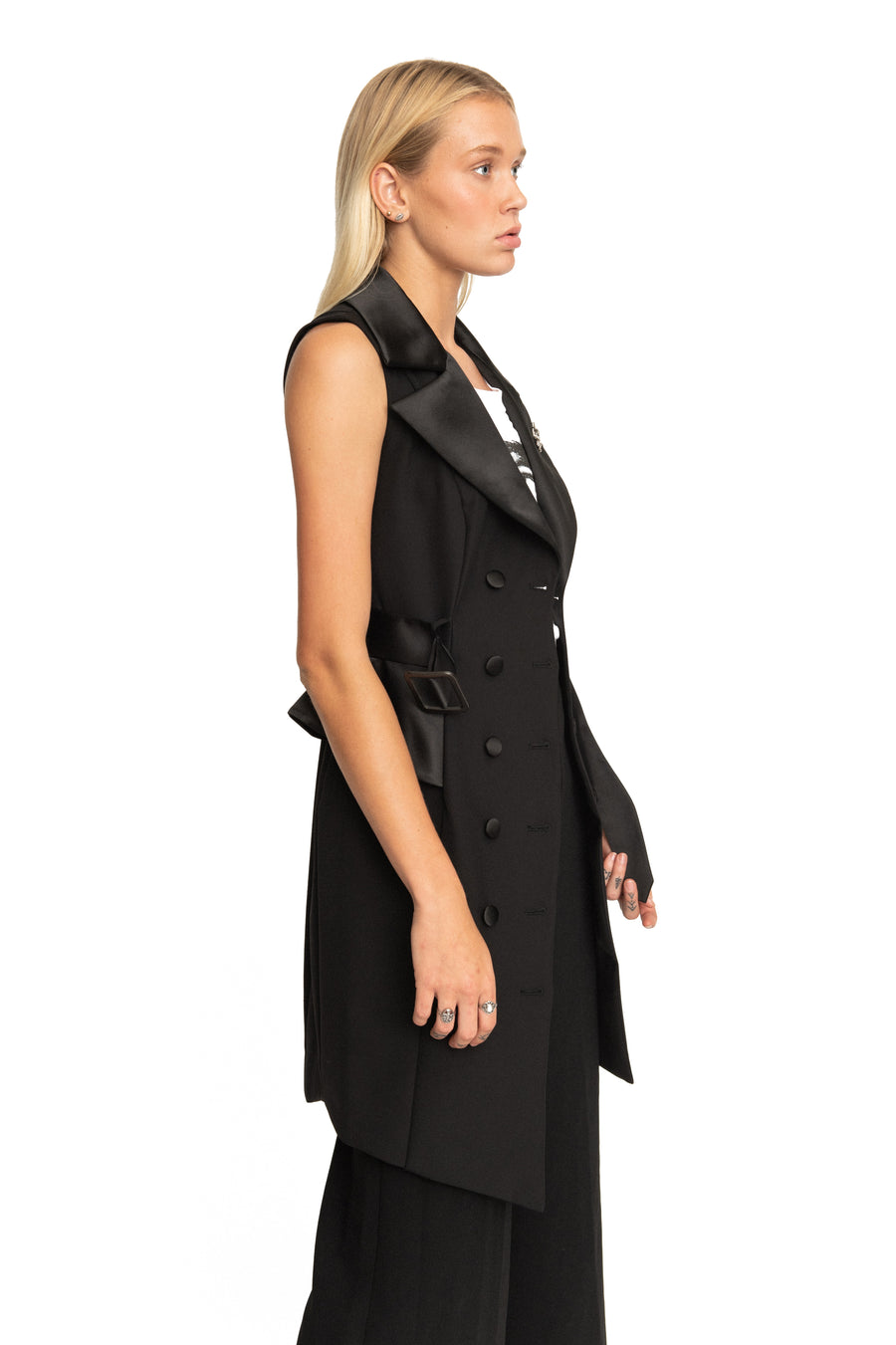 LODOVICA BLAZER DRESS/ VEST