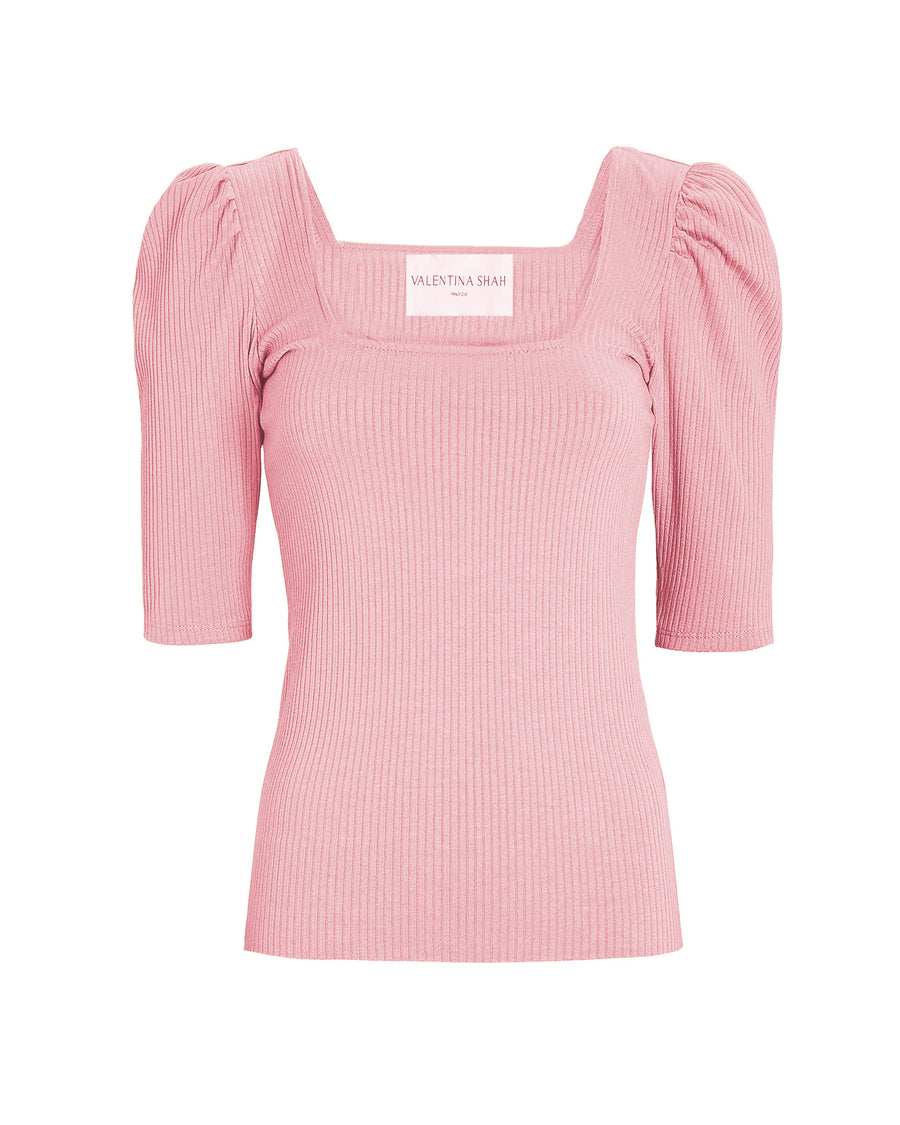 TIFFANY KNIT TOP- ROSE