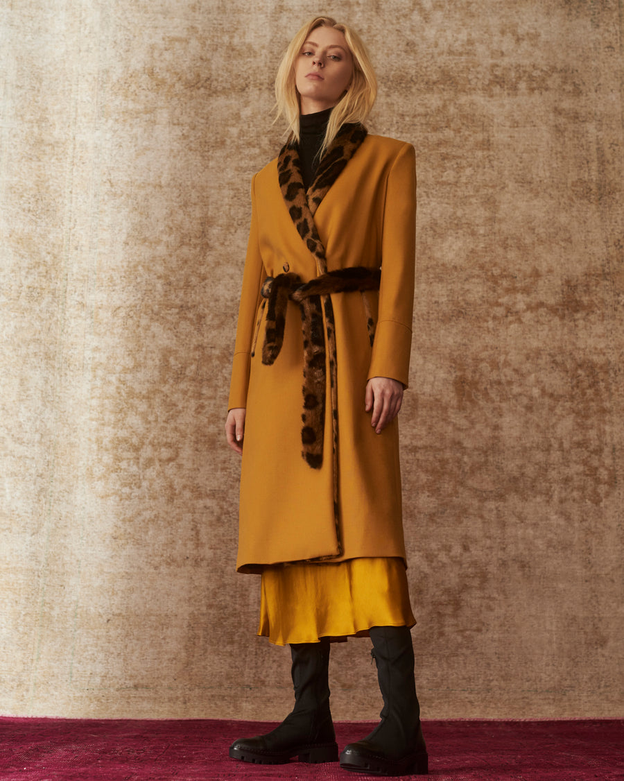 Kim Golden Grass Coat