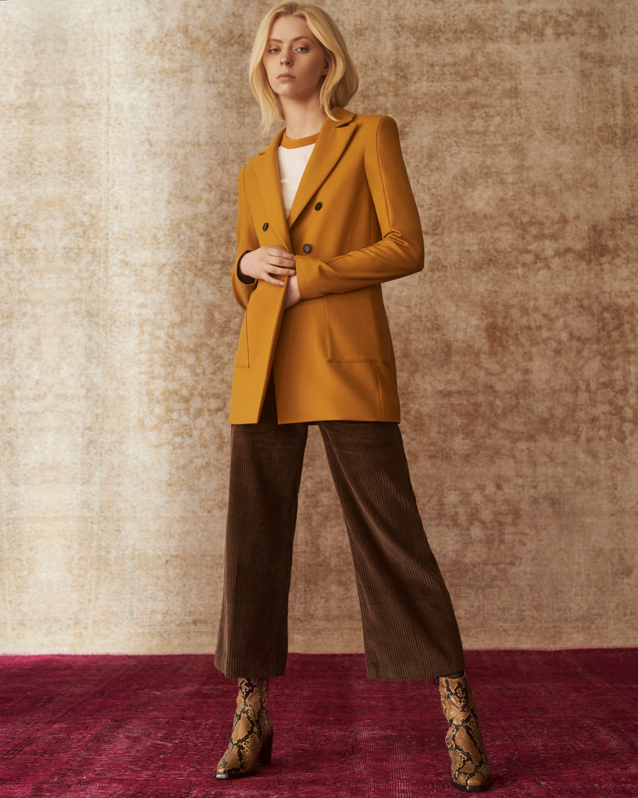 Martina Golden Grass Blazer