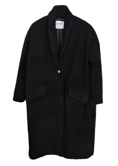 CLOTILDE COAT- Black