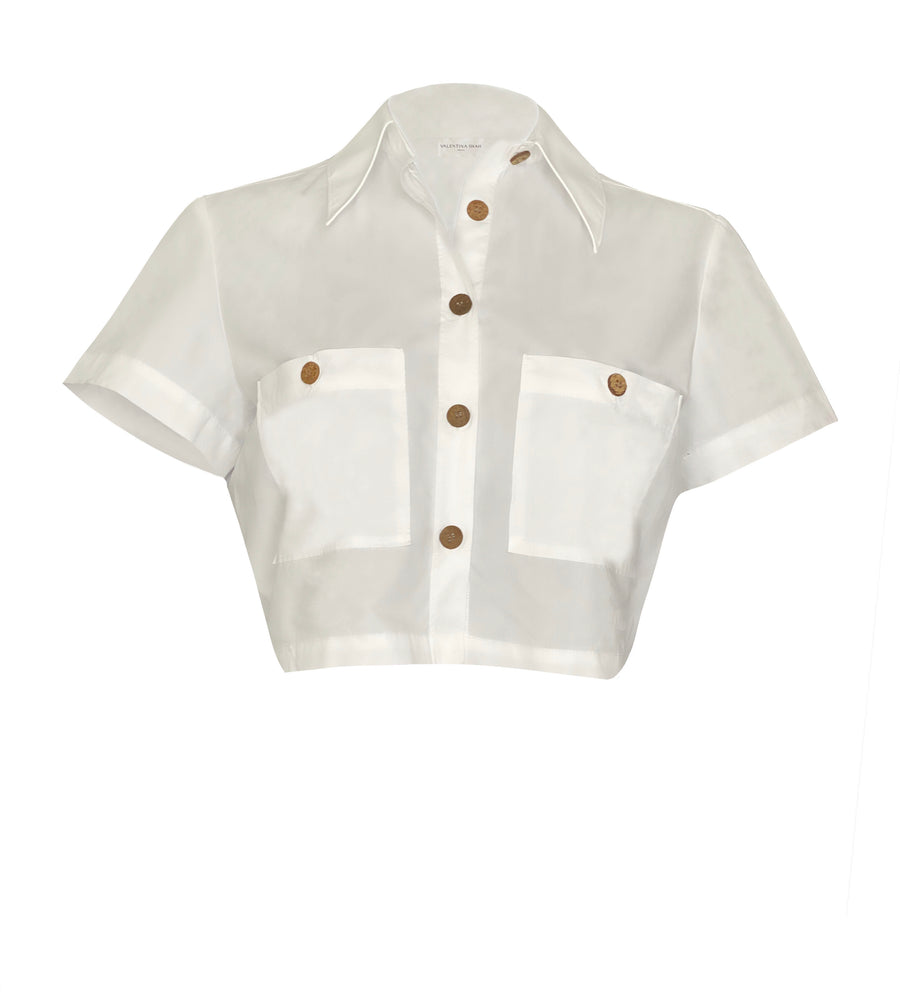 Zaila Shirt White