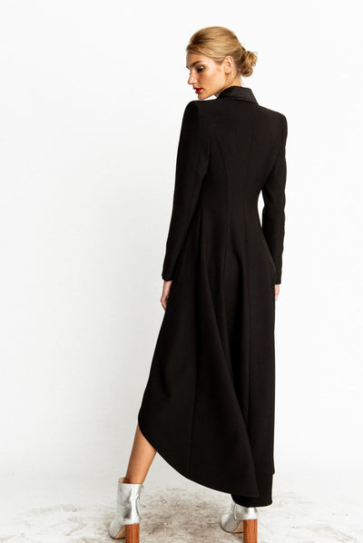 Black Coat Victoria Blazer Dress - Blazer