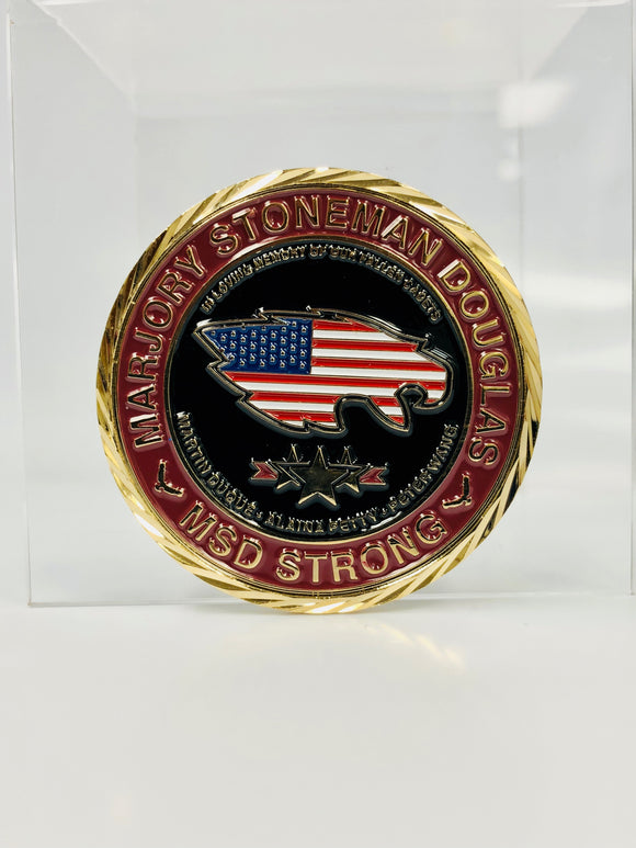 MSD JROTC Military Ball 2018 Challenge Coin