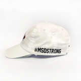 Stoneman Douglas Eagles Low Profile Cap (White) Side