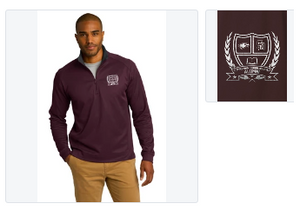 MSD Alumni Tech 1/4 Zip Sweatshirt