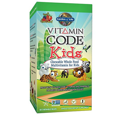 Vitamin Code Kids Chewable