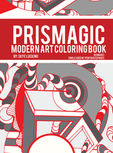 Prismagic Modern Art Coloring Book for Adults