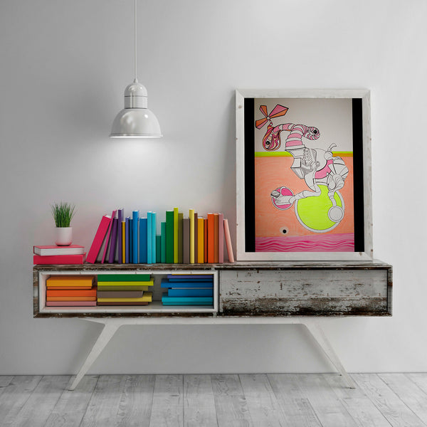 Como Caramelo (Like Candy) - Abstract Wall Art, Home Decor, Modern Art, Surreal Art, Psychedelic Art