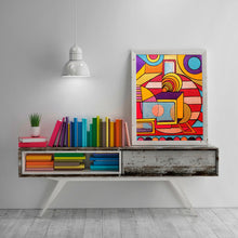 Everything Is Wonderful - Abstract Wall Large Art Print, Home Decor Wall Art, Living Room Decor, Modern Art, Surreal Art