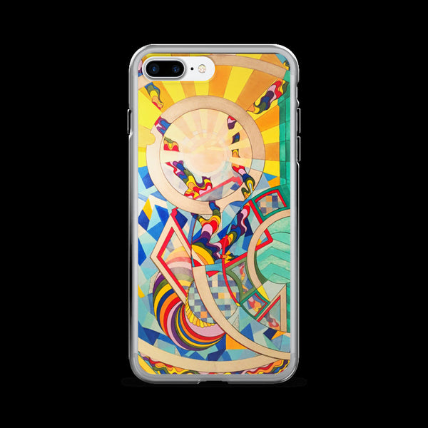 Full Time Sunshine - Modern Art, Geometric, and Pop Art Phone Cases