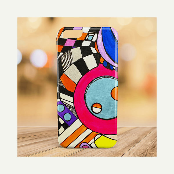 Thank You Dr. Sacks - Modern Art, Geometric, and Pop Art Phone Cases
