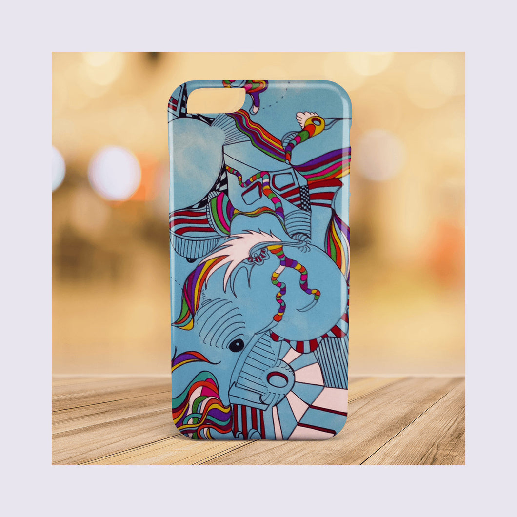 Yet to Be Realized - Modern Art Geometric iPhone Cases for 5 / 5S / SE - 6 / 6S - 6 / 6S Plus - 7 & 7 Plus