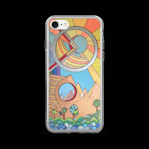 Father's Day - Modern Art Geometric iPhone Cases for 5 / 5S / SE - 6 / 6S - 6 / 6S Plus - 7 & 7 Plus